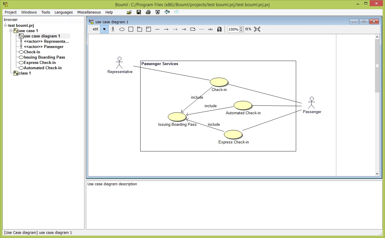Bouml Free Unified Modeling Language Uml Code Generation Tool Diagram Making Online Tooldiagram And